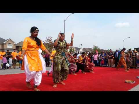 CTC Tamil Street Festival  2015 -Final dance, Toronto,Aug 29, 2015.