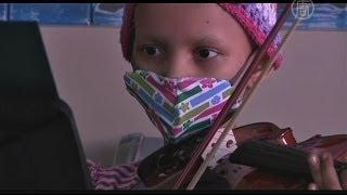 Больных раком детей лечат музыкой (новости)