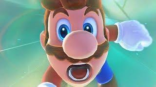 Super Mario Odyssey - Nintendo Switch Gameplay Part 1 Cascade Kingdom - Mario's Cartoon Games