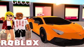 SHOPPING AT THE GUCCI STORE IN ROBLOX