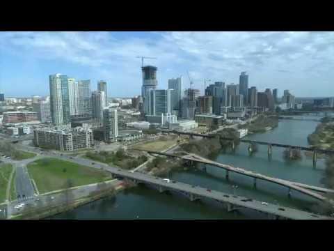 Austin, Texas Skyline by Drone