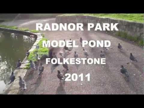 Radnor Park Model Boat Pond Folkestone