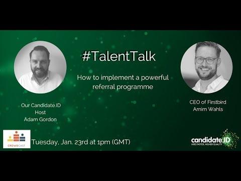 TalentTalk Employee Referral Programmes YouTube