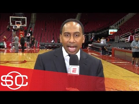 Stephen A: Warriors 'should be worried' after losing big to Rockets in Game 2 | SportsCenter | ESPN