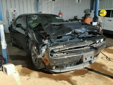 Someone Hit My Dodge Challenger :( - YouTube