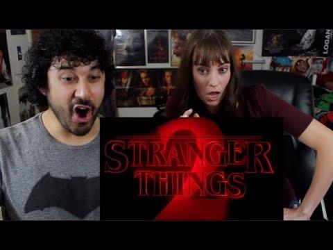 Stranger Things | S2 Friday the 13th & Nosebleed TRAILER REACTIONS!!!