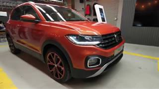 Walkaround interior exterior VW T-Cross