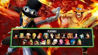 The one piece pirate warriors 4 website has been updated, this update gave us gameplay screenshots of two returning characters; sabo and ace! https://oppw4-2...