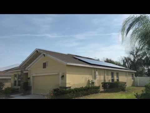 Solar panel installation in Bartow FL