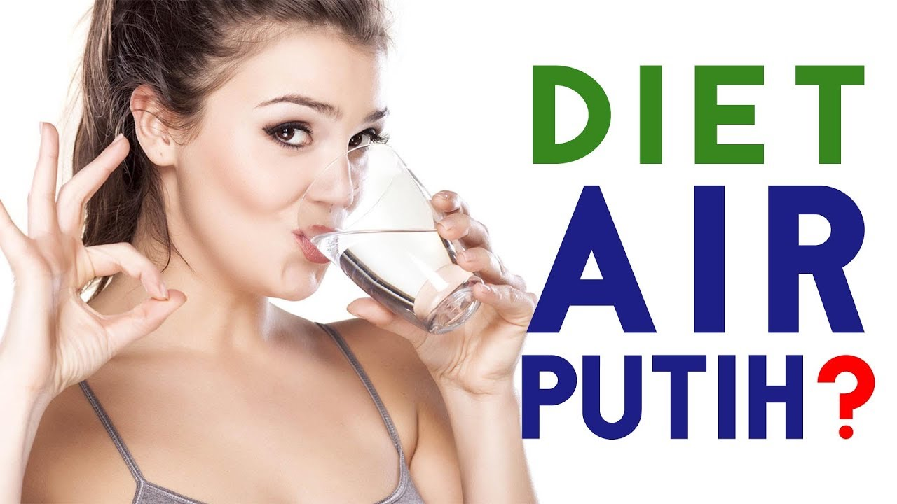 Diet Air Putih Mampu Turunkan Berat Badan Hingga Beberapa Kilo