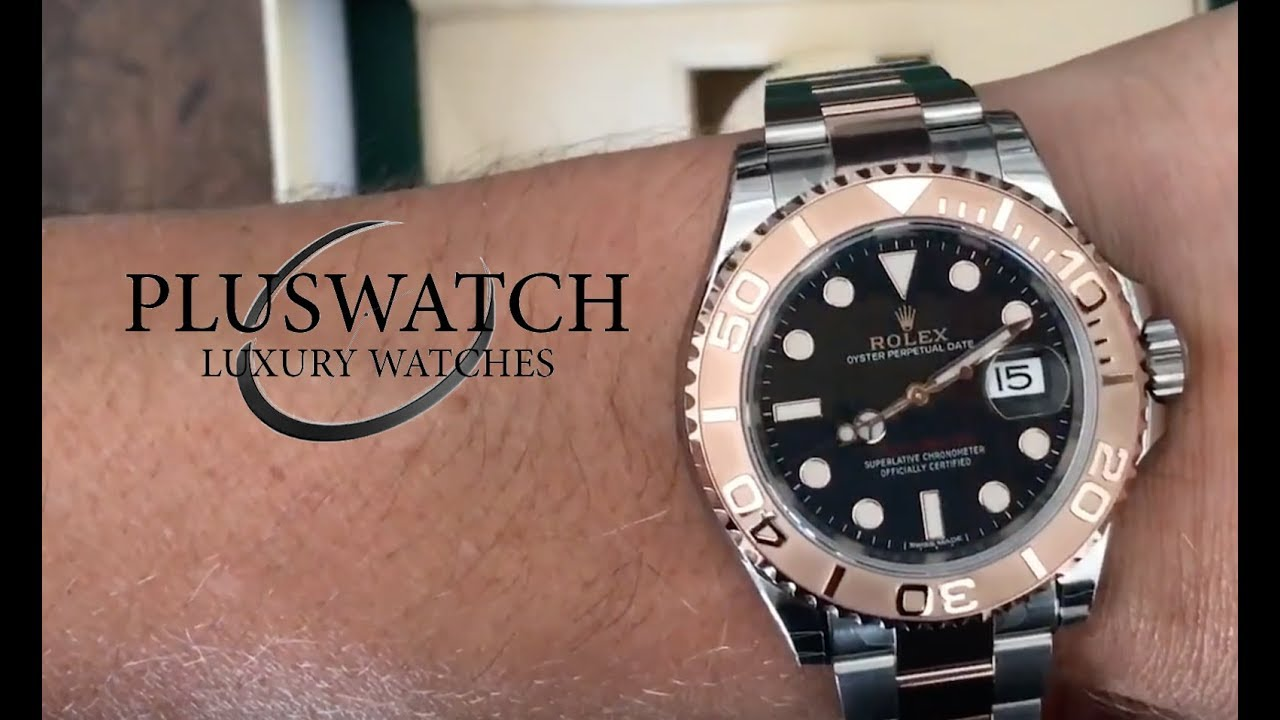 Rolex Yacht Master 116621 Black Dial YouTube