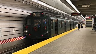 NYC Subway Nostalgia HD 60fps: The R1/9 Holiday Train First Weekend On IND Second Avenue Line (2017)