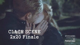 Shadowhunters 2x20  Clary  Jace Kiss - Clary Brings Back Jace  to Life Season 2 Episode 20 Finale