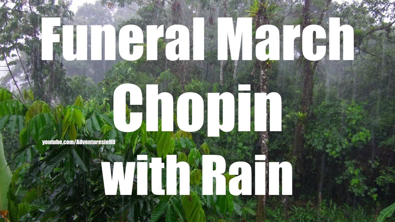 [4K] Rain Sounds with Classical Music | Rainfall and Music ...