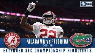 SEC Championship Extended Highlights: #1 Alabama Crimson Tide vs #7 Florida Gators | CBS Sports HQ