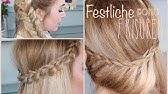 Festliche Frisur Frisuren Freitag Youtube