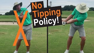 No Tipping Policy!