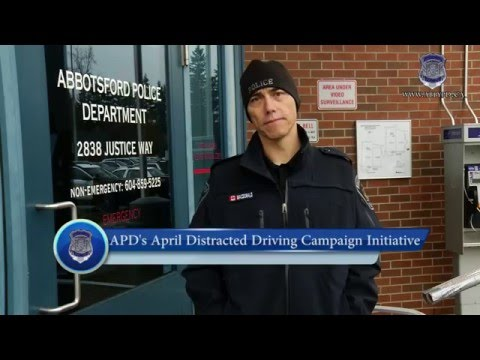 APD's April 1st 2016 Distracted Driving Enforcement Initiative