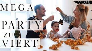So haben wir Silvester gerettet ! Erste Party zu Viert ! | PelicanBay #vlogs #familienvlogs