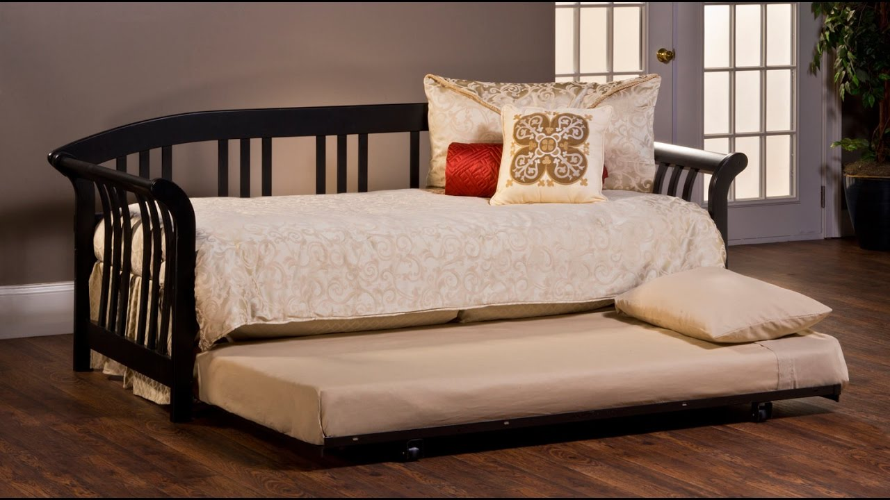 finding the best modern daybed with trundle youtube. Black Bedroom Furniture Sets. Home Design Ideas