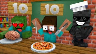 Monster School : COOKING CHALLENGE NEW EPISODE - Minecraft Animation