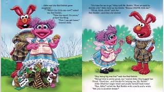 Sesame Street Abby in Wonderland book from Epic Books for iPad