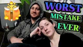 WORST mistake ever!?  | Vlog