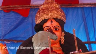 Durga Murti Making || 25 Feet Durga Mata Making || Murti Making at Ganga Putra Sangam || Hyd
