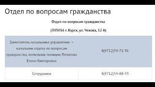 УФМС или ОВМ УМВД о вопросах гражданства 10 сентября 2019