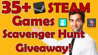 35+ STEAM Games Scavenger Hunt Giveaway