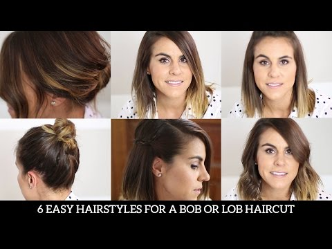 6 Easy Hairstyles For Bob Haircut