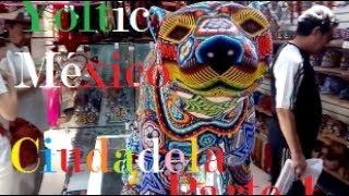 La Ciudadela Mercado de artesanías Parte 1