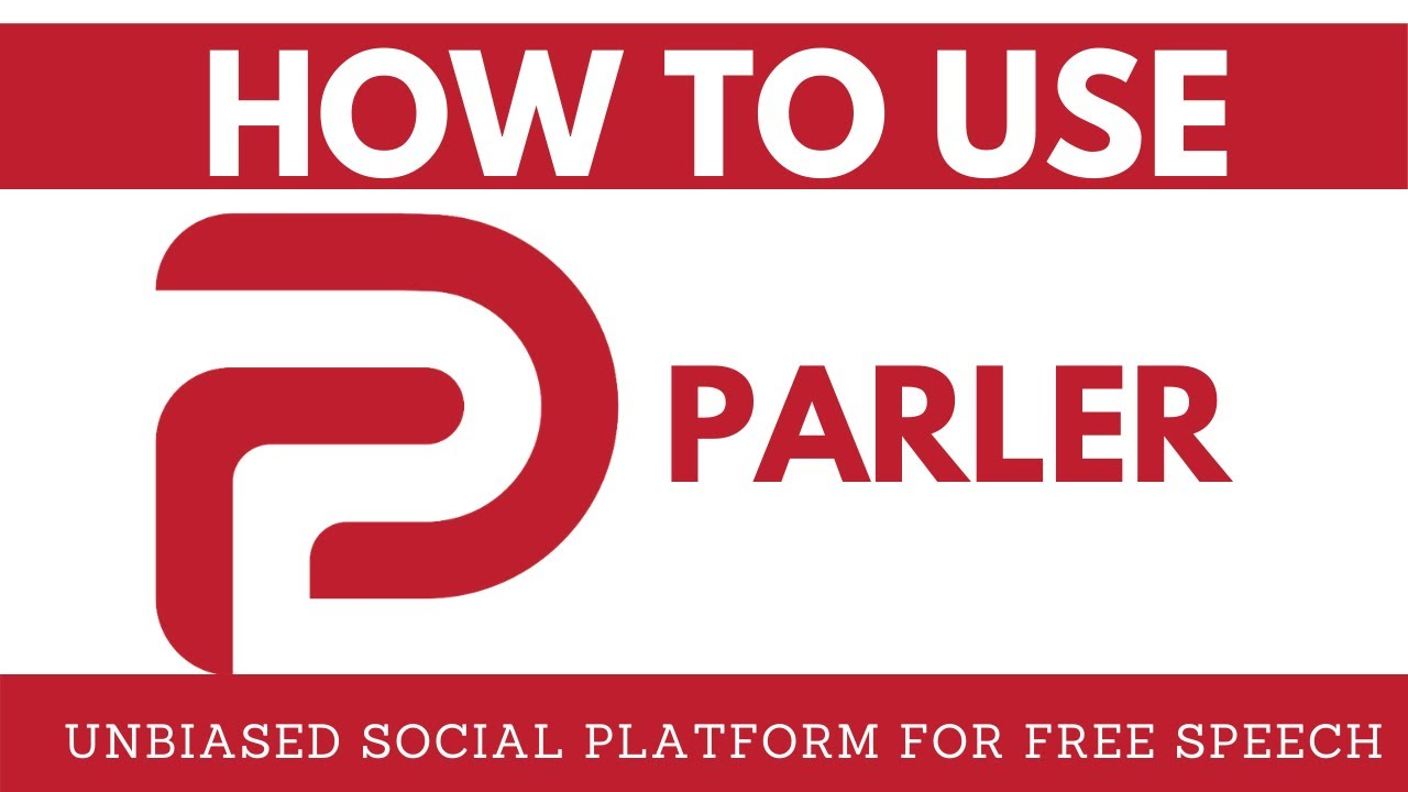 How To Use Parler 2020 App Tutorial Youtube