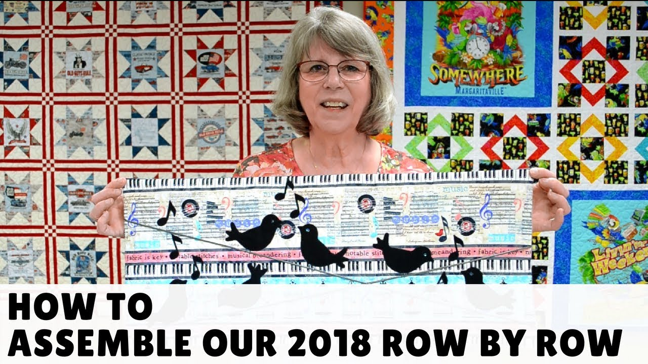 2018 Row By Quilt For The Sewing Studio Fabric Super