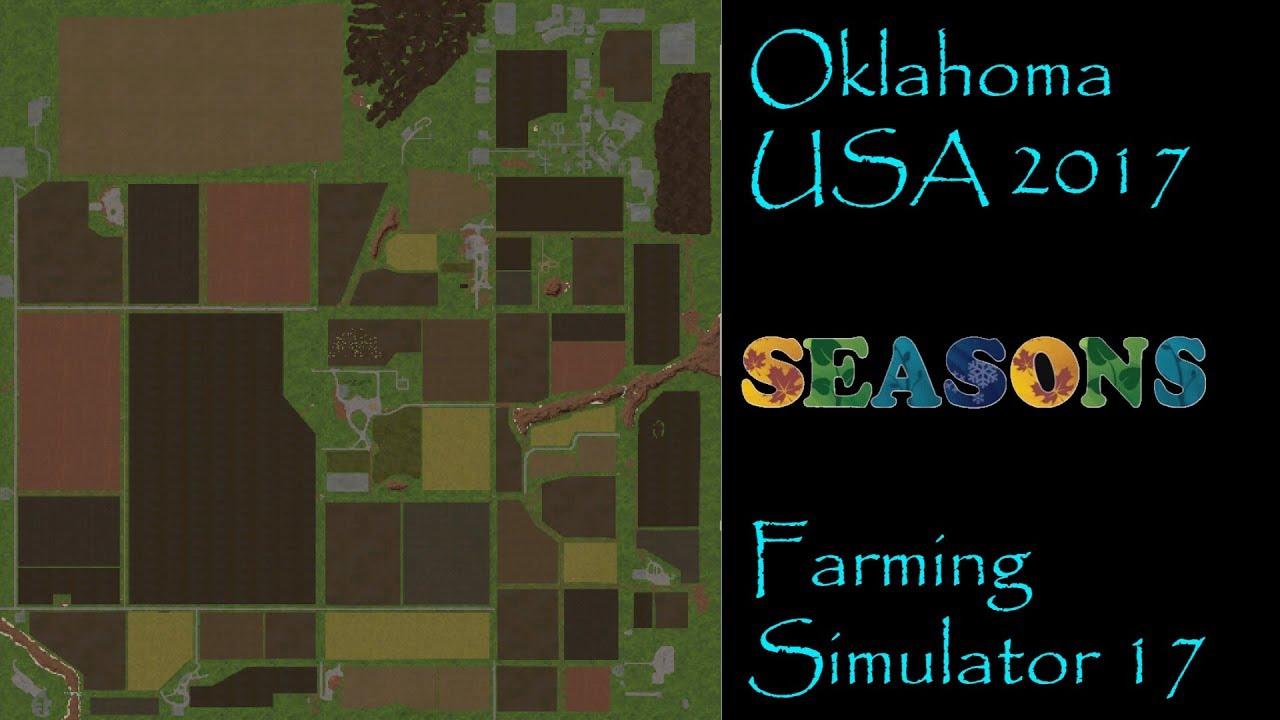 Farming Simulator 17 Map First Impression Oklahoma Usa 2017