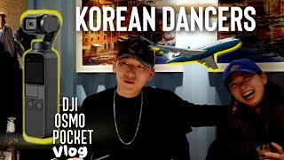 "KOREAN DANCERS COME TO ""K.A DANCE ACADEMY"" (DJI Osmo Pocket Vlog)"