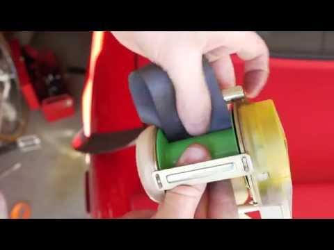 How to fix slow retracting seat belt