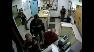 EXCLUSIVE - unedited jail video of my kidnapping, Clatsop County, Astoria Oregon.
