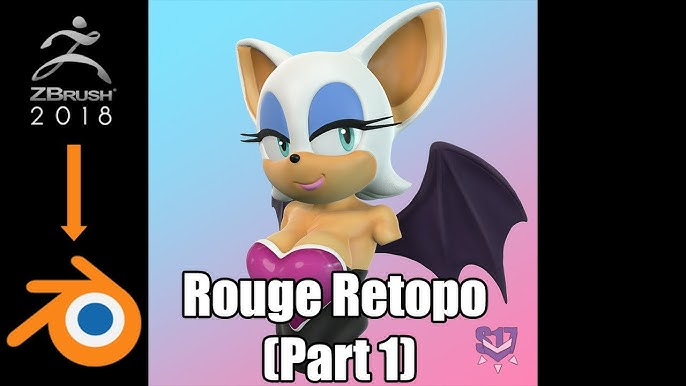Rouge The Bat From Start To Finish