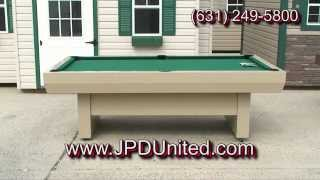 Video 29 -- Outdoor Pool Table #2 -- At Jpd United -- Farmingdale New York (ny)