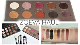 Zoeva Haul + Review + Swatches!