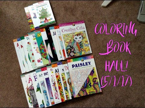 Coloring Book Haul! (5/1/17)