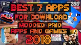How To Download Modded Android Games and Paid Apps for free | Download paid apps and games free.