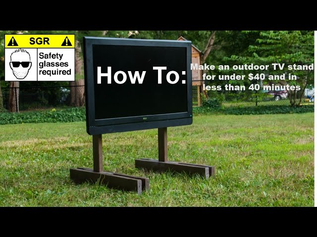 Diy Tv Stand You