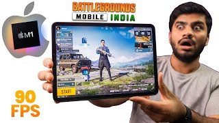 iPad Pro M1🔥BGMI🔥 Gameplay Review with FPS Counter {90FPS Test} - 😍Best Device for BGMI