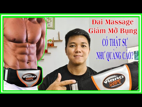 Đai Massage Vibro Shape Có Giảm Mỡ Bụng? | ThanhThuậnVlogs