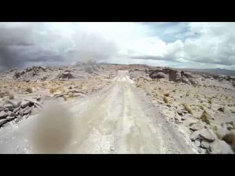 Riding the Altiplano in Southern Boliva