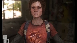 Character Photoshop Texturing Overview, tutorial, Ellie fan art The last of us