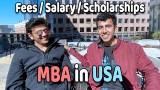 MBA in USA: Salary, Fees | Journey To 100% Scholarship
