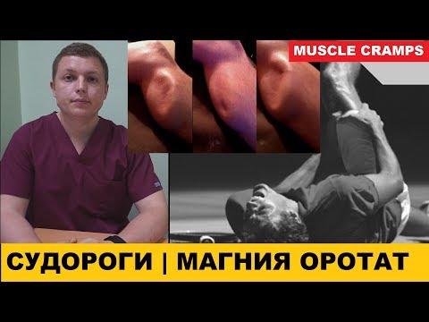 СУДОРОГИ В НОГАХ ЛЕЧЕНИЕ | МАГНИЯ ОРОТАТ | Muscle Cramps Require Magnesium